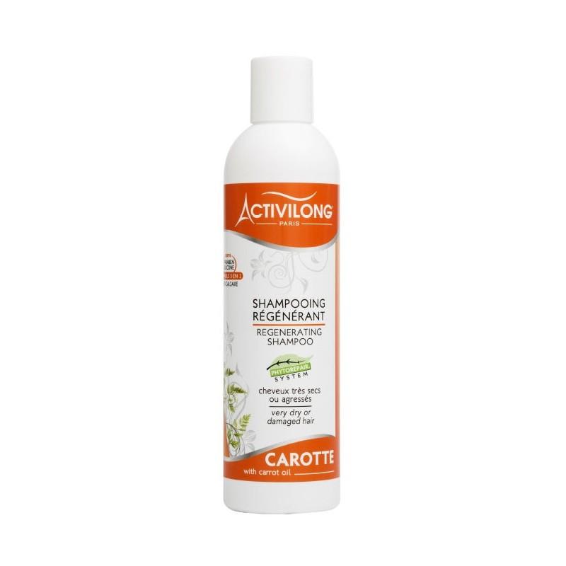 Shampooing régénérant à la carotte Activilong