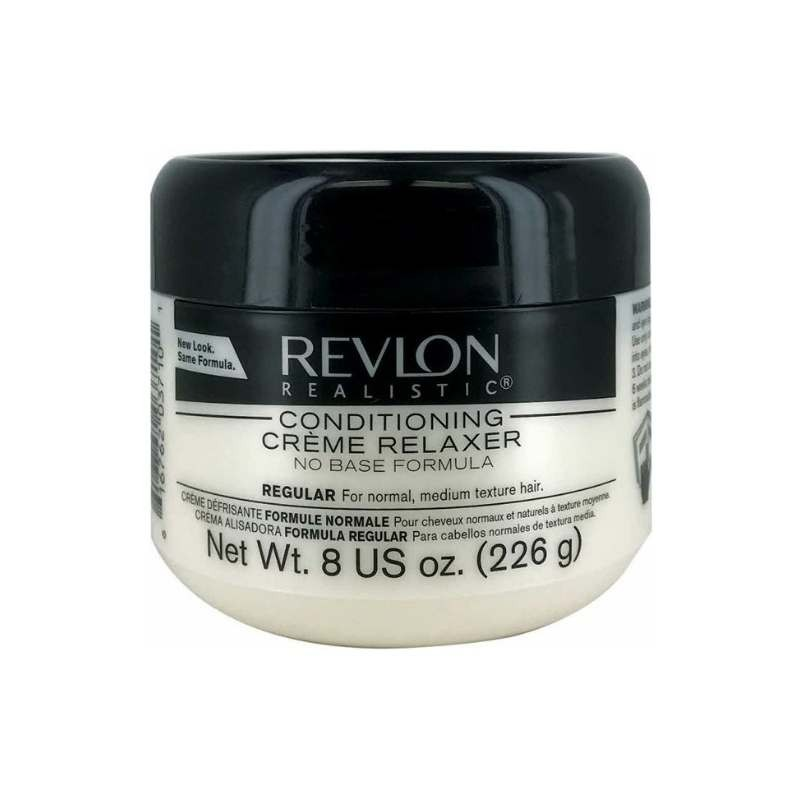 Revlon Realistic Conditioning Cream Relaxer No Base Regular