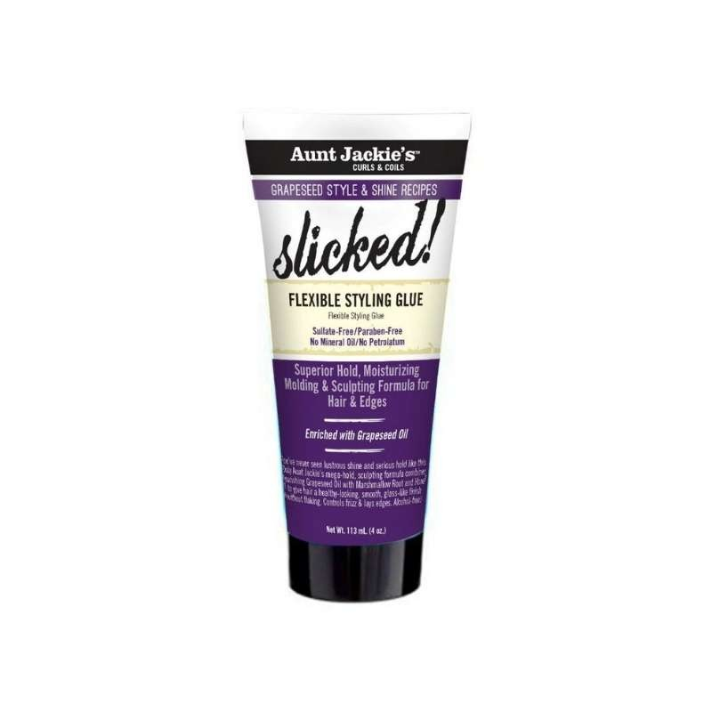 Grapseed Style Slicked ! Flexible Styling Glue Aunt Jackie's