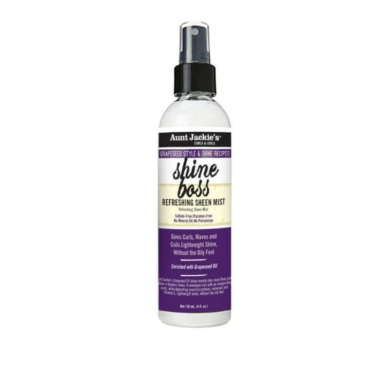 Grapseed Shine Boss Refreshing Sheen Mist Aunt Jackie's