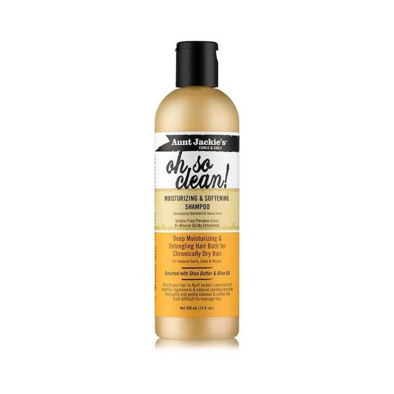 Aunt Jackie's Oh So Clean! Shampooing Hydratant et Adoucissant