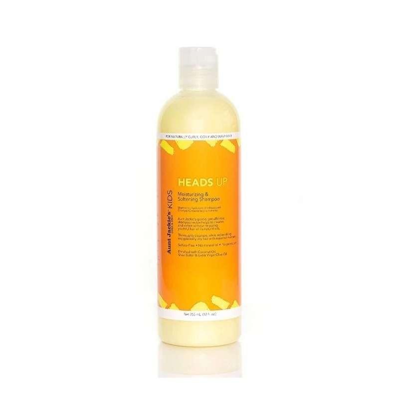 Aunt Jackie's Curls & Coils Kids Heads Up Moisturizing & Softening Shampoo