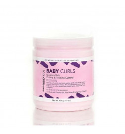 Aunt Jackie's Curls & Coils Kids Baby Girl Curls Curling & Twisting Custard