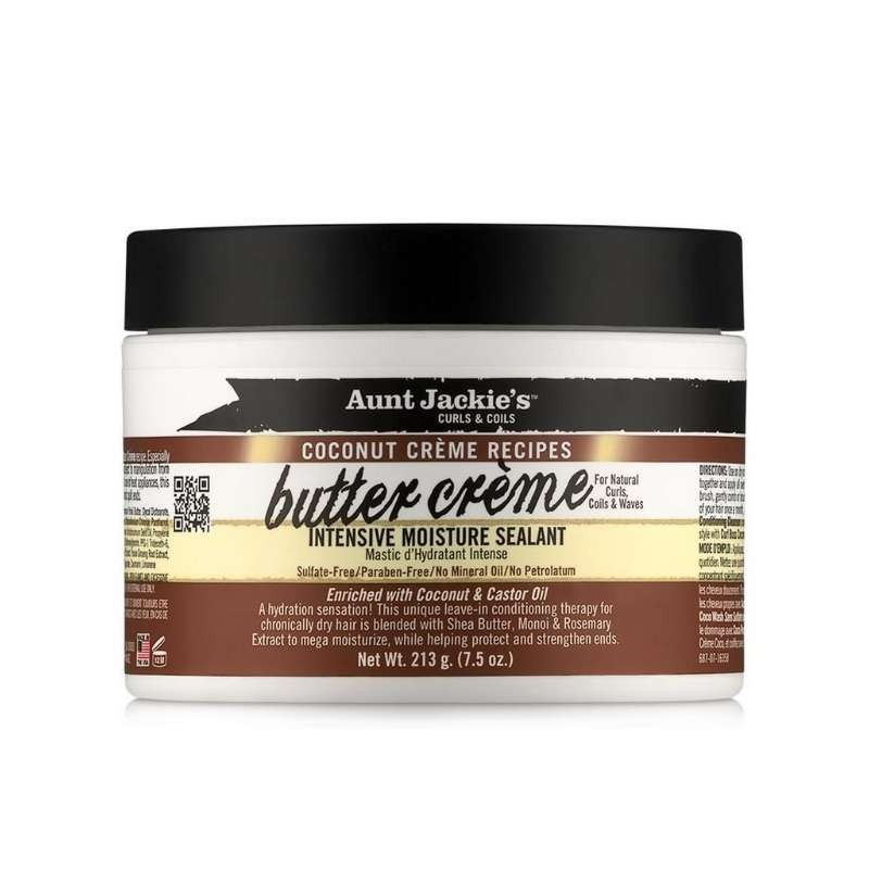 Aunt Jackie's Coconut Creme Recipes Butter Creme Intensive Moisture Sealant