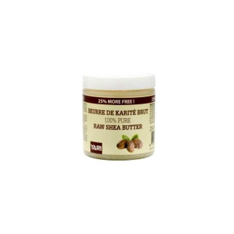 Yari Beurre de Karité Brut 250 ml