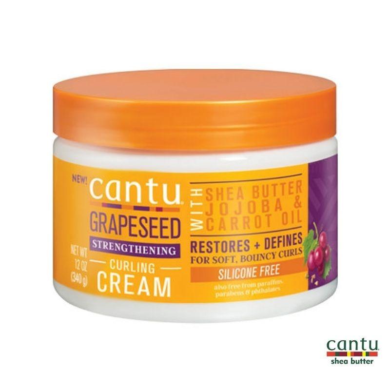 Cantu Grapeseed Strengthening Curl Cream