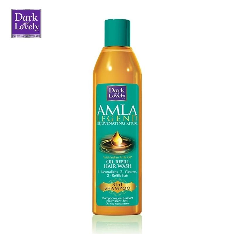 Dark and Lovely Amla Oil Refill Hair Wash 3 in 1 Shampoo