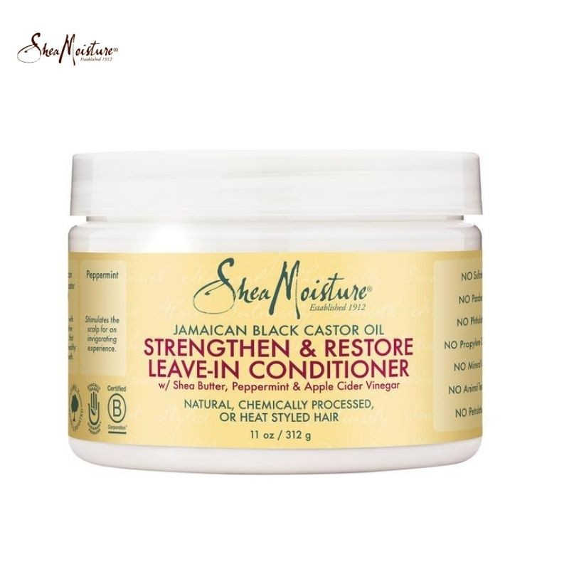 Shea Moisture Jamaican Black Castor Oil Strengthen, Grow and Restore Leave-In Conditioner