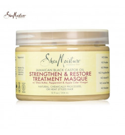 Shea Moisture Jamaican Black Castor Oil Strengthen, Grow and Restore Treatment Masque