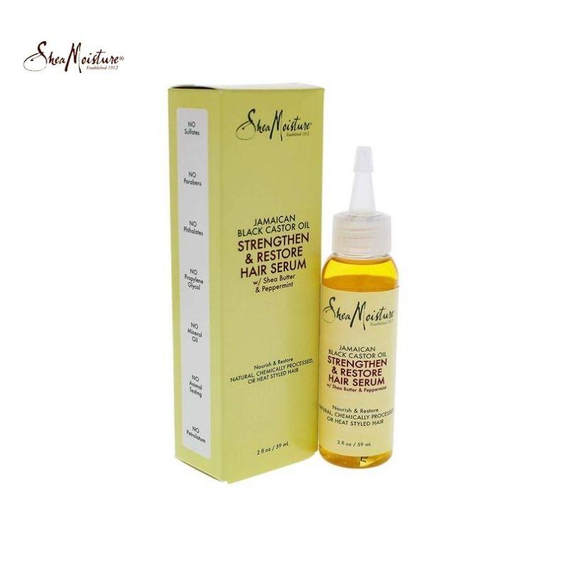 Shea Moisture Jamaican Black Castor Oil Strengthen & Grow Restorative Hair Serum