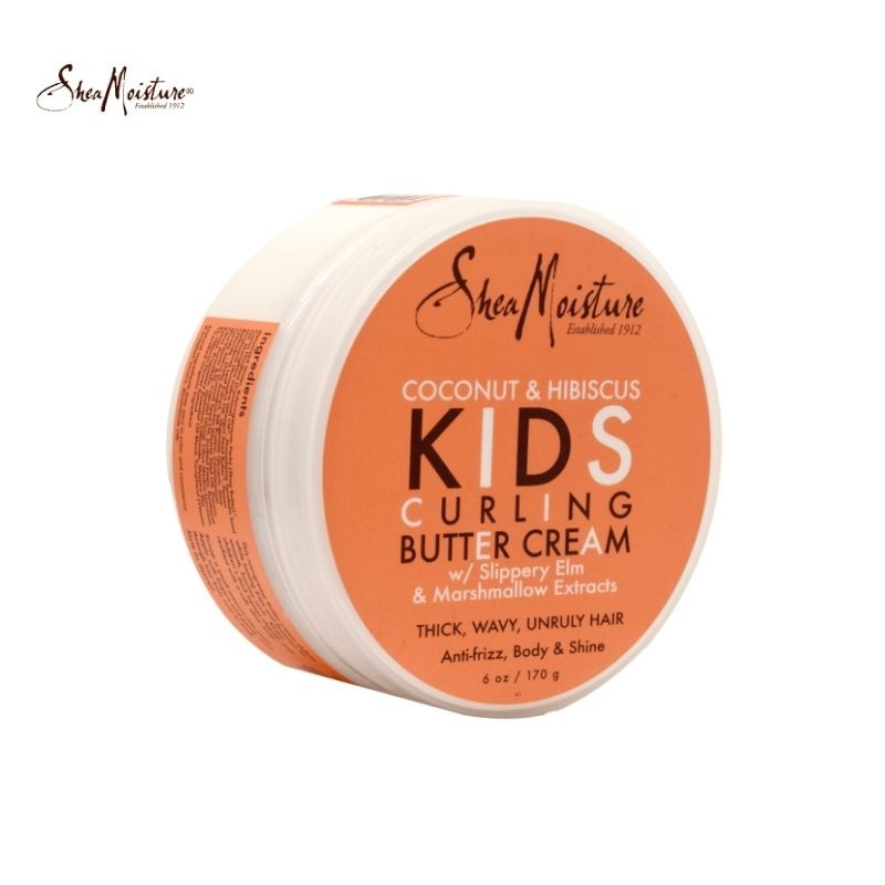 Shea Moisture Coconut & Hibiscus Kids Curling Butter Cream