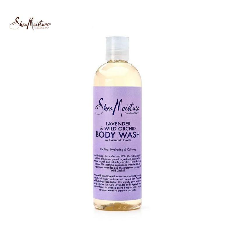 Shea Moisture Lavender & Wild Orchid Body Wash