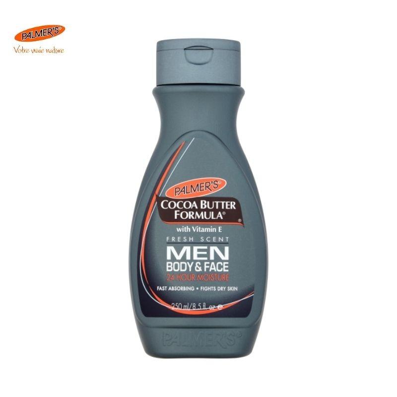 Palmer's Lait de Soin apaisant et Hydratant visage et corps pour homme