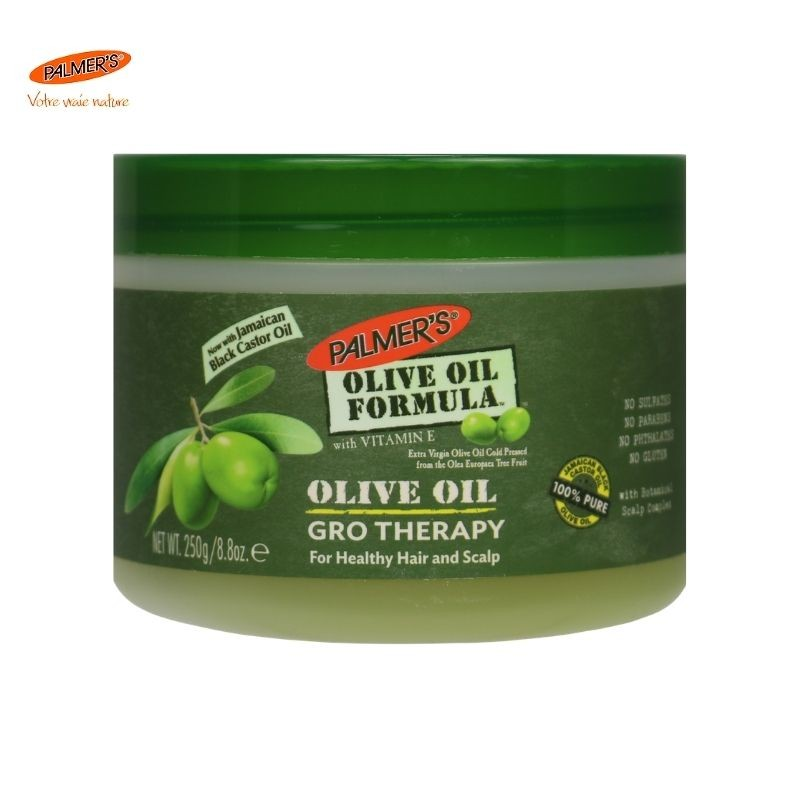 Gro Therapy à l'huile d'Olive extra vierge PALMER'S - Tameli