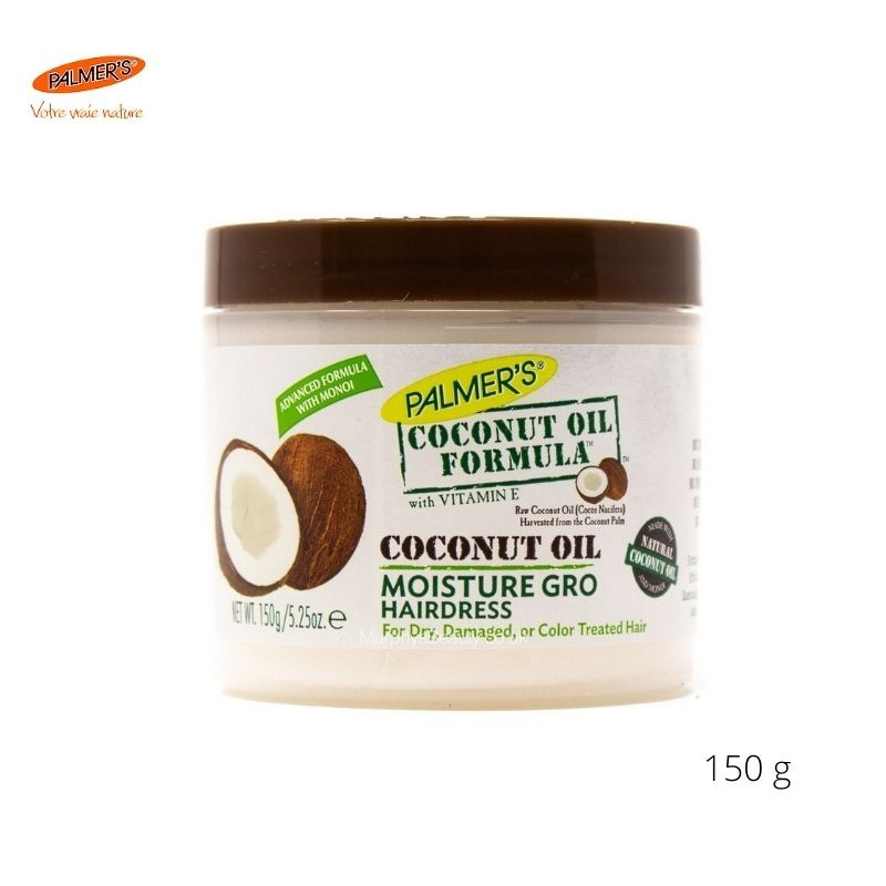 Coconut Oil Formula Moisture Gro Hairdress Palmer's 150 g