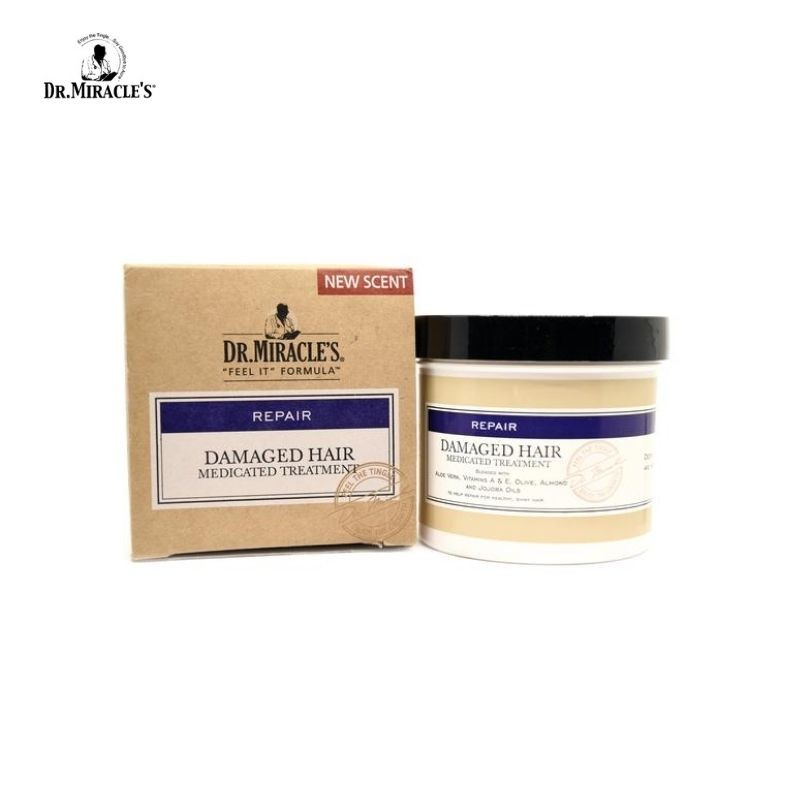 Dr Miracle's Damaged hair medicated treatment