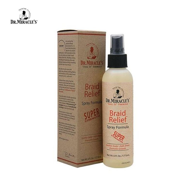 Dr Miracle's Braid Relief Spray Formula