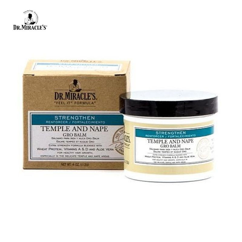 Dr Miracle's Temple and Nape Gro Balm