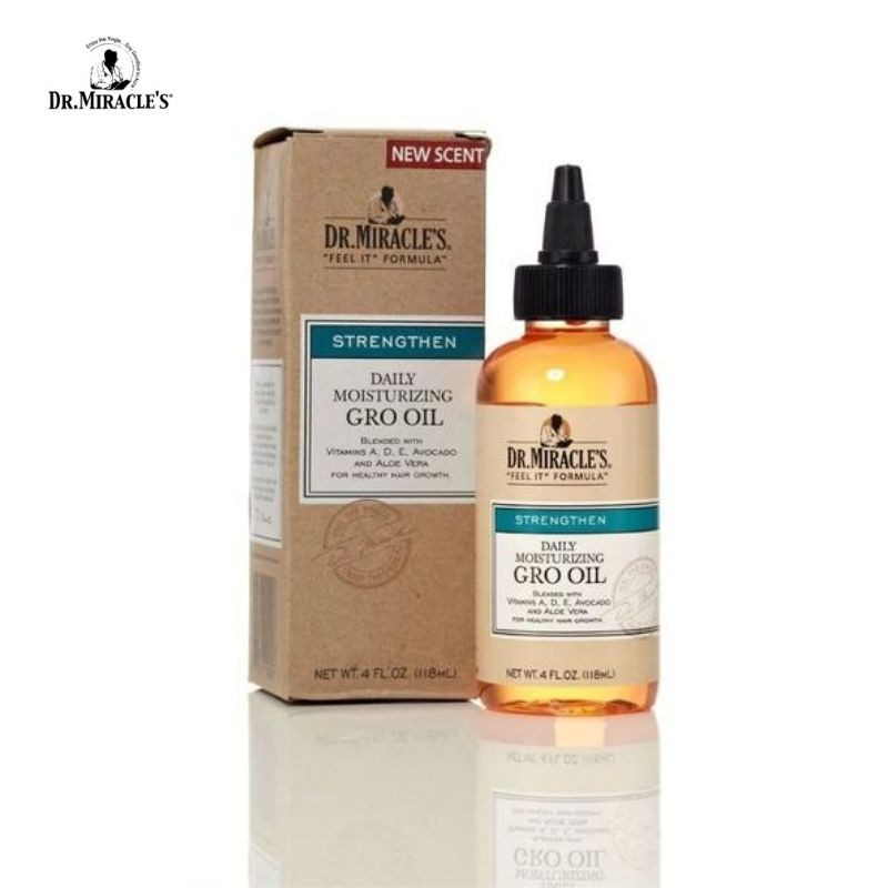 Dr Miracle's Daily Moisturizing Gro Oil