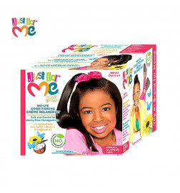 Just For Me No Lye Conditioning Crème Relaxer Kit children's