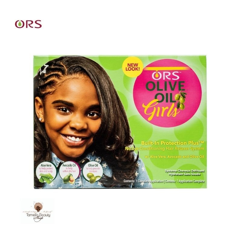 ORS Kit Défrisant Olive Oil Girls