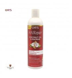 ORS HAIRepair Shampoing Revigorant huile de Coco et Baobab
