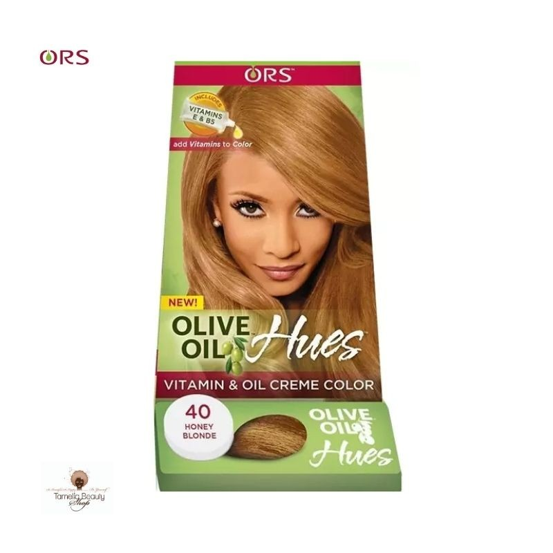 ORS Olive Oil Hues Vitamines and Oil Creme Color 40 Honey Blond