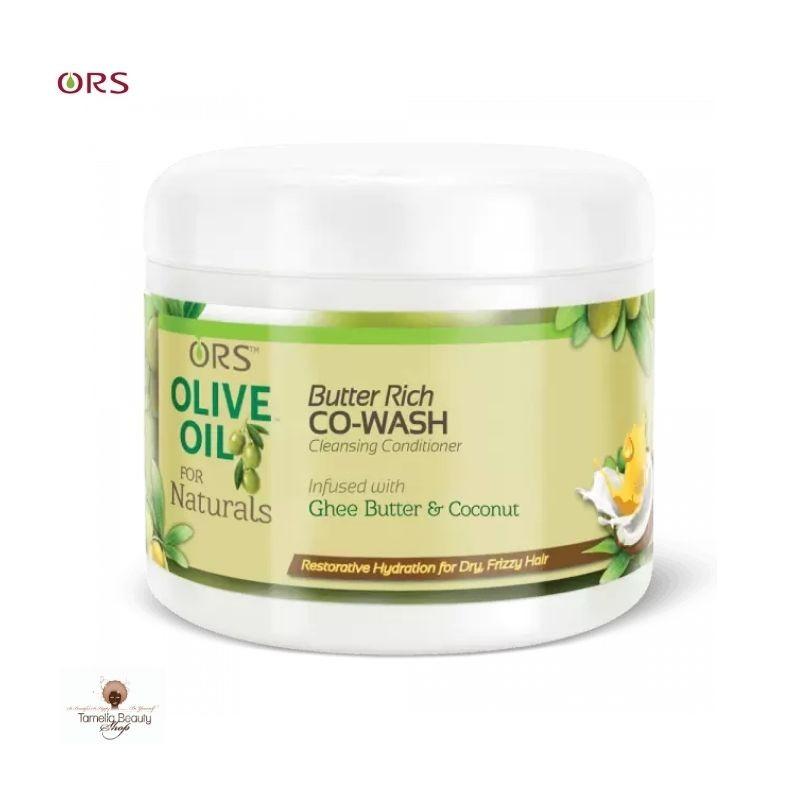 ORS Co-Wash à l'huile d'Olive et au Beurre de Ghee
