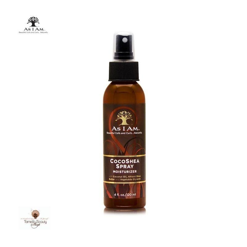 CocoShea Spray Moisturizer de As I Am est un plaisir pour vos frisottis et vos boucles.