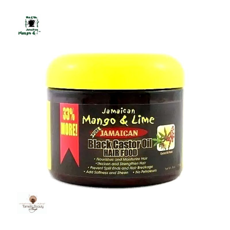 Black Castor Oil Hair Food Jamaican Mango and Lime