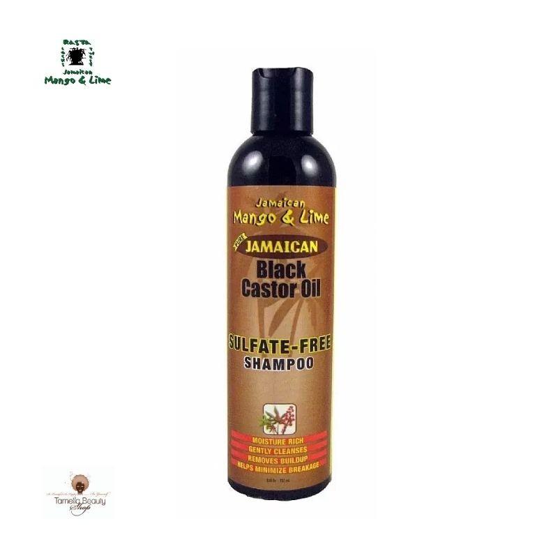 Jamaican black Castor Oil Shampoing sans Sulfate Jamaican Mango & Lime
