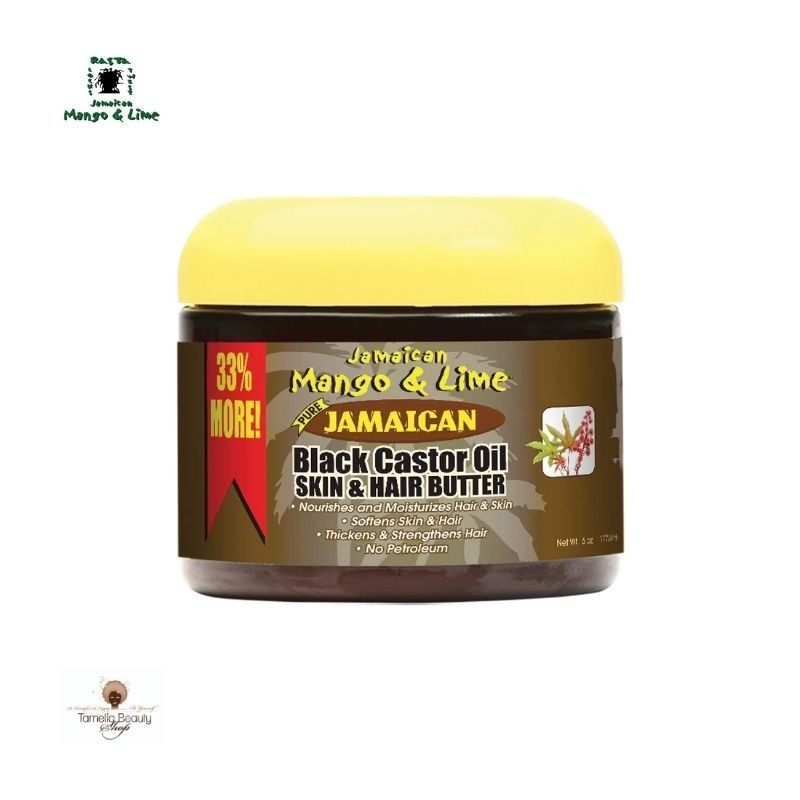 Jamaican Black Castor Oil Skin and Hair Butter Jamaican Mango & Lime