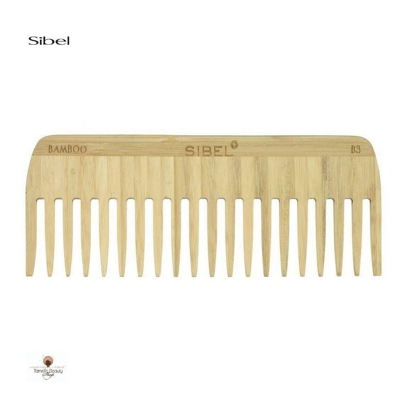 Sibel Peigne Bambou Dents Larges B3- Tamelia Beauty Shop