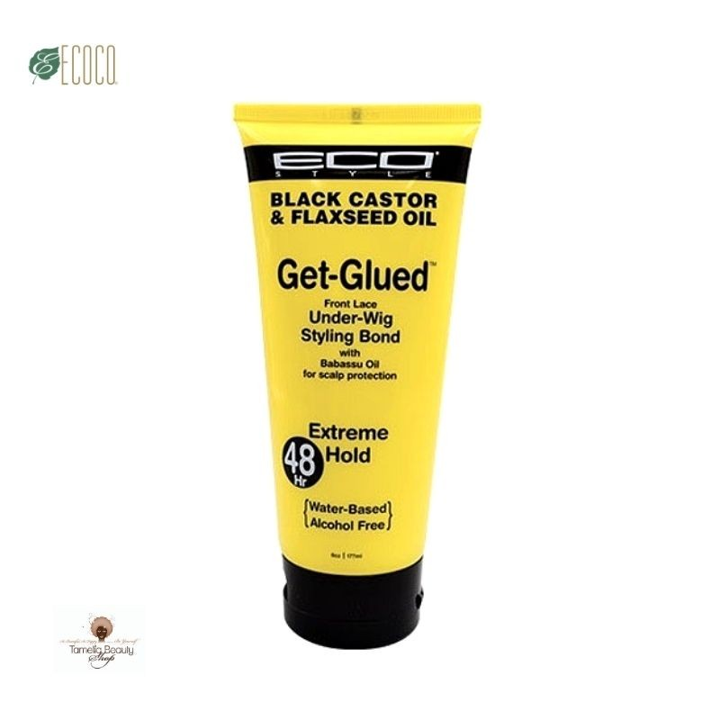 Eco Black Castor Oil & Flaxseed Oil Get-Glued