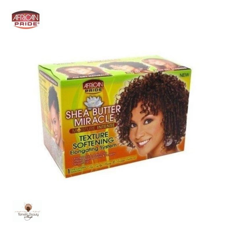African Pride Shea Butter Miracle Moisture Intense Texture S