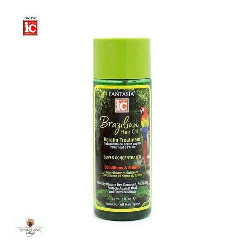 Ic Fantasia Brazilian Hair Oil Keratin Treatment Serum