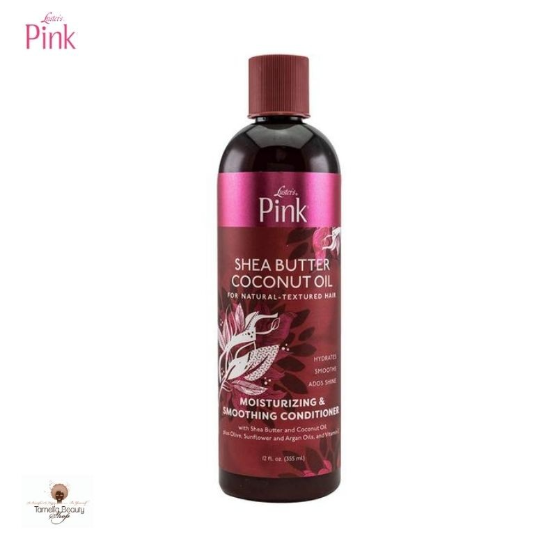 Pink Luster's  Shea Butter Coconut Oil Moisturizing And Silkening Conditioner